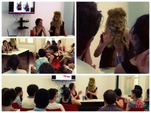 lion rio conférence collage
